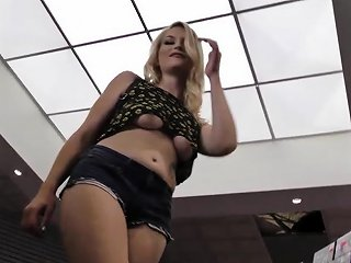 Blonde Teen Sucking Dick