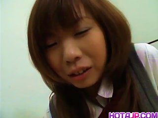 Slutty Schoolgirl Babe Misa Kurita  - More At Hotajp.com